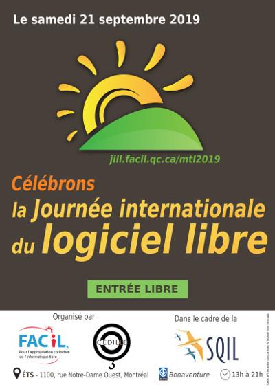 Journée internationale du logiciel libre 2019